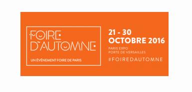 Invitation à la foire d'automne au parc des expo porte de Versailles à Paris à saisir gratuitement