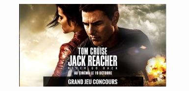 Gagnez des entrées pour voir le film Jack Reacher et pleins d'autrescadeaux avec le jeu concours de Jeux video and co