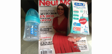 Obtenez un biberon offert avec le magazine Neuf Mois