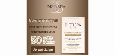 Testez gratuitement le Dietispa sur Betrousse