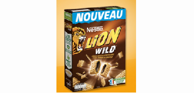 Testez gratutiement le  produit Croquons la vie : Céréales Lion