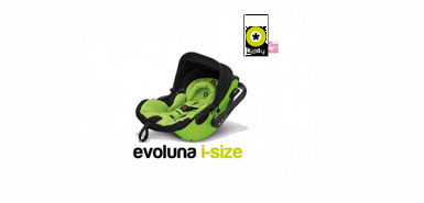 Test produit Consobaby : Siège auto Evoluna i-size