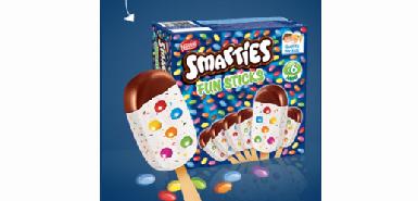 Testez gratuitement des glaces Smarties sur Croquons la vie