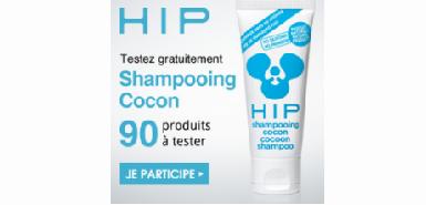 Testez gratuitement le shampooing cocon