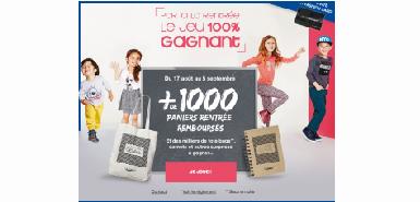 Promotion La Halle : Jeu 100% gagnant