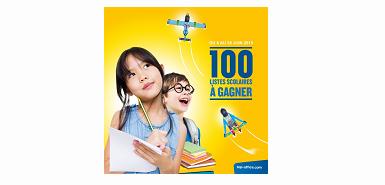 Gagnez 100 listes scolaires chez Top Office