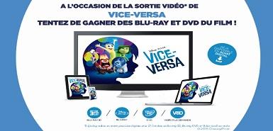 Gagnez un Blu-Ray de Vice-Versa sur M6 Boutique