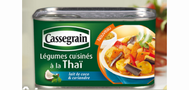 Le Cassegrain légumes à la Thaï à tester sur CVous