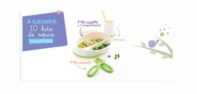 Gagnez des kits de repas P'tits délices Mastrad Baby sur Allobébé