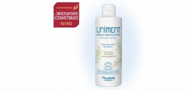 Testez le liniment dermo protecteur gracieusement chez Mustela