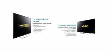 Un TV SONY 4K-HDR à gagner sur Oscaro