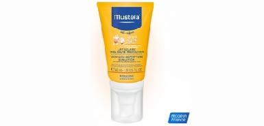 Test produit Mustela : Lait solaire visage