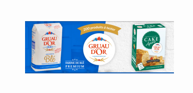 Test produit C Vous : La farine GRUAU d'OR