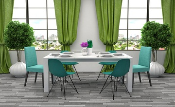 Quatre astuces pour bien décorer votre salle à manger !