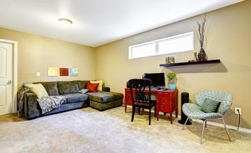 Transformez votre sous-sol en pièce à vivre