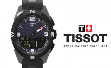 Tissot Smart-Touch : une montre connectée à l'autonomie infinie grâce à l'énergie solaire