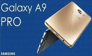 Samsung dévoile le Galaxy A9 Pro une phablette dotée d'une batterie de 5000 mAh