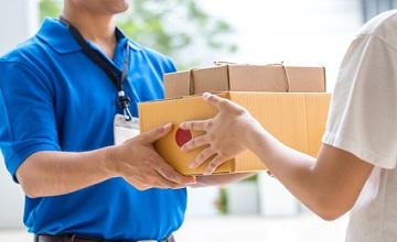 La livraison chez Amazon