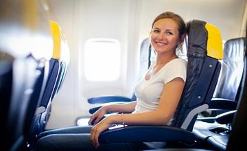 Être à l'aise lors d'un long voyage en avion