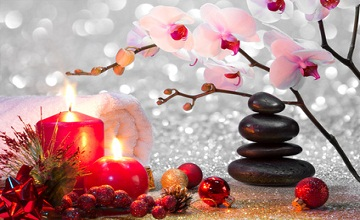 Zen pour la fête de Noël