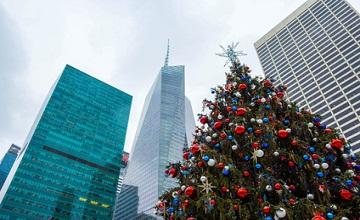 En images : les décorations de Noël des belles villes du monde