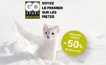 Les bons plans et les promos des soldes d'hiver Go Sport