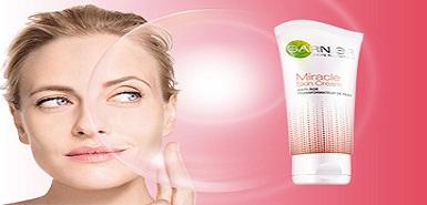 Recevez gratuitement des échantillons gratuits du soin Miracle Skin Cream de Garnier