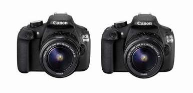 Jusqu'à 20€ remboursés pour l'achat d'un appareil photo numérique reflex CANON EOS 1200D + 18-55 III DC