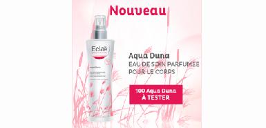 Test produit beaute-test : Aqua Duna de Eclaé