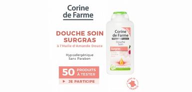 Offre beaute-test : soin Douche Surgras - Huile d'Amande