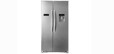 50% de remboursement à l'achat d'un Réfrigerateur américain 556 litres HISENSE RS723N4WC1