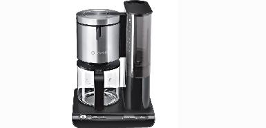 Remboursement de 20% sur un BOSCH TKA8633 Cafetière filtre programmable Styline - Noir