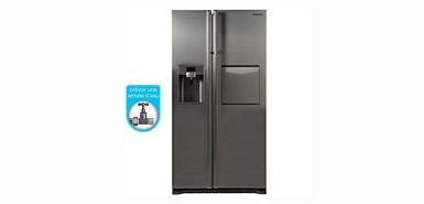 Jusqu'à 50€ remboursés sur un réfrigérateur américain SAMSUNG RSG5PUSL1/XEF