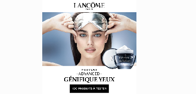 Testez gratuitement la crème yeux Advanced Généfique de Lancôme