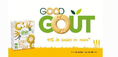 Testez gratuitement les biscuits ronds GOOD GOUT