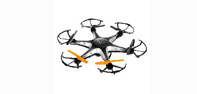 Jusqu'à 20€ remboursés sur une Drone 2,4 g 48 cm 6 axes caméra