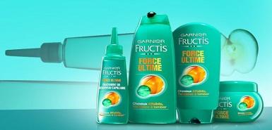 Test de produit Garnier: la gamme Fructis Force