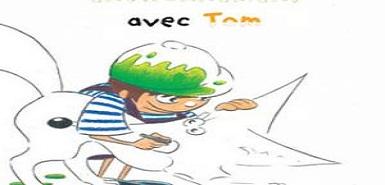 """Échantillon gratuit: le livre """"Imagine et dessine un meilleur environnement avec Tom"""""""