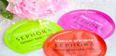 Des masques Sephora à tester gratuitement