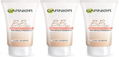 Profitez de 100 000 échantillons gratuits BB Light de Garnier
