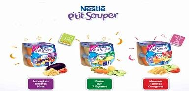 Testez gratuitement le Nestlé P'tit souper
