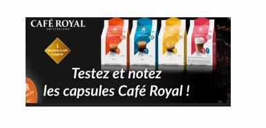 Des Capsules Café Royal à tester