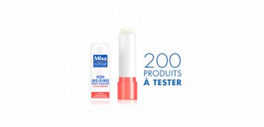 Des soins des lèvres Mixa à tester