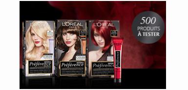 Une coloration cheveux Préférence In à tester gratuitement
