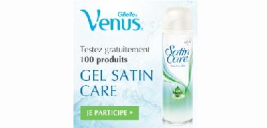 Le gel dépilatoire Venus à tester gratuitement sur Betrousse