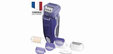Jusqu'à 30 € remboursés pour l'achat d'un épilateur anti douleur calor beauty parmi un sélection de réferences