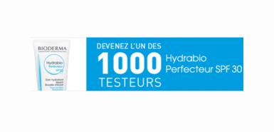 Testez gratuitement le Hydrabio perfecteur de Bioderma