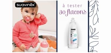 Test produit Consobaby : Gel nettoyant Suavinex