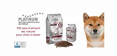Offre Consoanimo : Sacs de nourriture Platinum