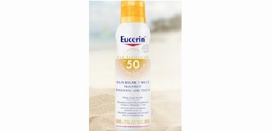 Test produit Eucerin : 100 Sun Brume